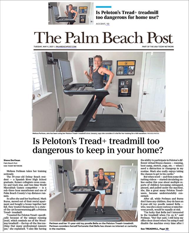 Peloton's Tread+ treadmill